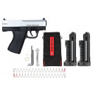Pistolet Tiberius First Strike FSC Combat Silver Edition Limitée