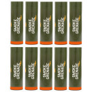 Pack 10 fumigènes Friction FL Orange