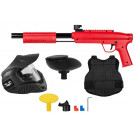 Pack paintball enfant Gotcha Rouge