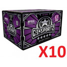 10 cartons de billes GI Sportz 5 étoiles .68