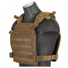 Gilet léger Plate Carrier Tan 1000D