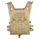 Gilet tactique Valken Plate Carrier II Tan