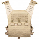 Gilet tactique Valken Plate Carrier LC Tan