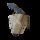 Holster Kydex pour HDR50 ceinture et MOLLE Droitier - Tan