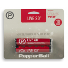 10 billes PepperBall 10 Live SD PAVA Projectiles cal.68