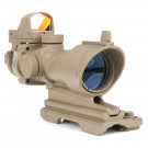 Lunette Scope ACOG 4X32 + point rouge
