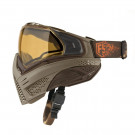 Masque Push Edition limitée First Strike Tan/Brown
