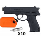 Pack Pistolet G.I.SPORTZ Menace .50 + 10 Sparclettes CO2