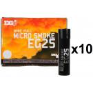 Pack 10 Fumigènes à goupille Micro Smoke EG25 Blanc