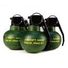 Pack 3 grenades TAG M-67