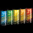 Pack de 5 fumigènes couleurs