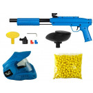 Pack paintball enfant Gotcha Bleu + 500 Billes