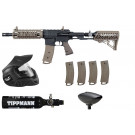 Pack complet Tippmann TMC crosse air Tan Cal .68
