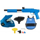 Pack paintball enfant Gotcha Bleu