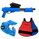 Pack Paintball Enfant Blaster Bleu