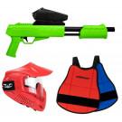 Pack Paintball Enfant Blaster Vert