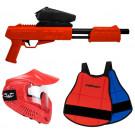 Pack Paintball Enfant Blaster Rouge