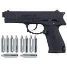 Pack Pistolet G.I.SPORTZ Menace Cal.50 + 10 Sparclettes CO2