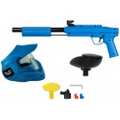 Pack paintball simple enfant Gotcha Bleu