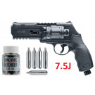 Pack Revolver HDR50 7.5J Umarex + Billes caoutchouc