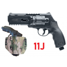 Pack Revolver HDR50 11J + Holster MOLLE Kydex Thermoformé Wrap Camo