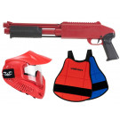 Pack Fusil Paintball Enfant Z200 Rouge