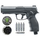 Pack Pistolet Umarex T4E HDP 11J Cal .50 + Boite de 100 billes caoutchouc