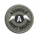 Patch Velcro Asshole Merit Badge