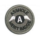 Patch Velcro Asshole Merit Badge