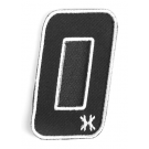 """Patch Velcro HK Army Numéro """"0"""""""