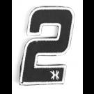 """Patch Velcro HK Army Numéro """"2"""""""