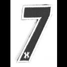 """Patch Velcro HK Army Numéro """"7"""""""