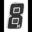 """Patch Velcro HK Army Numéro """"8"""""""