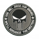Patch Velcro Rond Punisher