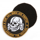 """Patch Velcro """"God Will Judge Our Enemies"""""""