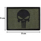 Patch Velcro Punisher rectangle