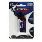 Pile Alcaline 6LR61 9Volts Energy Paintball