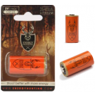 Pile CR123 Lithium 3V Energy Hunting