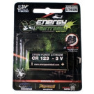 Pile Energy Paintball LITHIUM CR123 3Volts