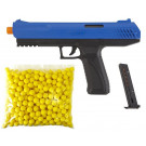 Pack Pistolet Paintball Enfant JT Z100 Bleu