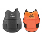 Protection Valken plastron V-Tac Réversible Orange/Noir