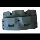 Porte chargeurs 4 barillets en Kydex pour HDR 50 Fixation Malice clips - Olive