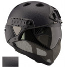 Casque WARQ Collection RAPTOR Paintball Black