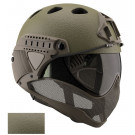 Casque WARQ Collection RAPTOR Paintball Olive
