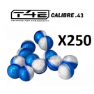 Sachet de 250 billes Cal.43 Craie CB43 Umarex