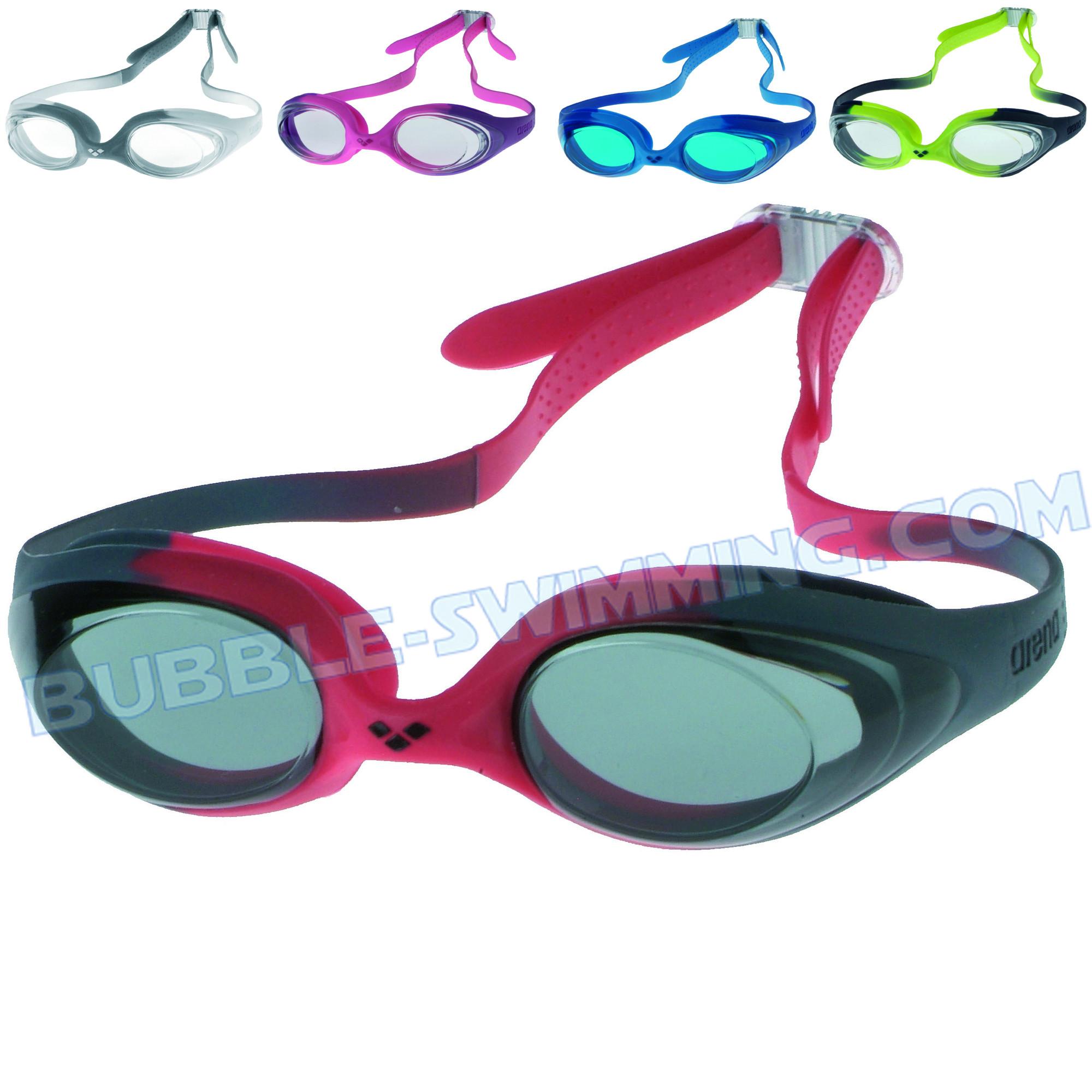 Lunettes spider junior lunette enfant piscine lunettes - Lunettes de piscine correctrices ...